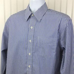 Ralph Lauren Men's Striped Dress Shirt 16-34/35